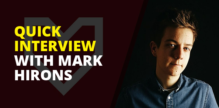 Quick interview with Mark Hirons