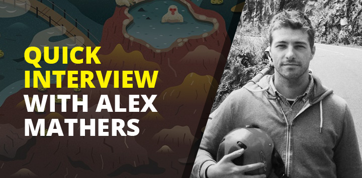 Quick Interview with Alex Mathers