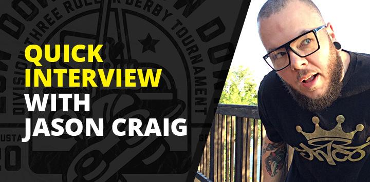 Quick interview with Jason Craig