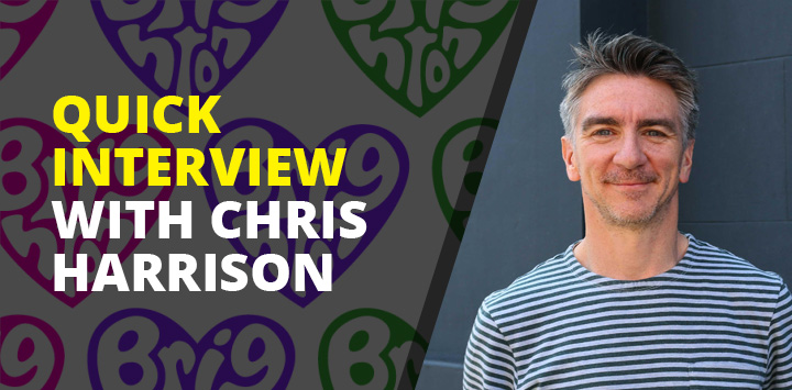 Quick interview with Chris Harrison