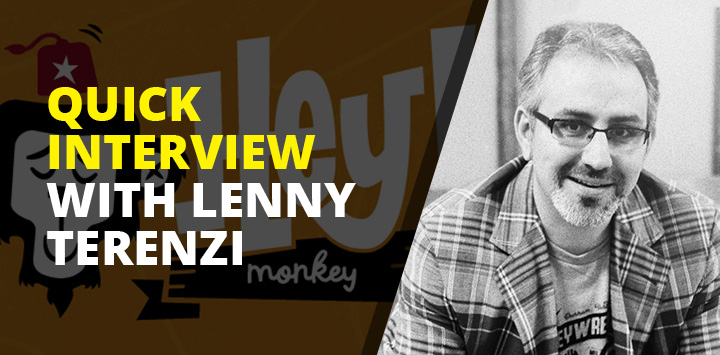 Quick interview with Lenny Terenzi