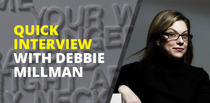 Quick interview with Debbie Millman