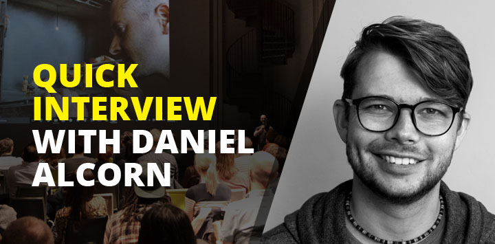 Quick interview with Daniel Alcorn