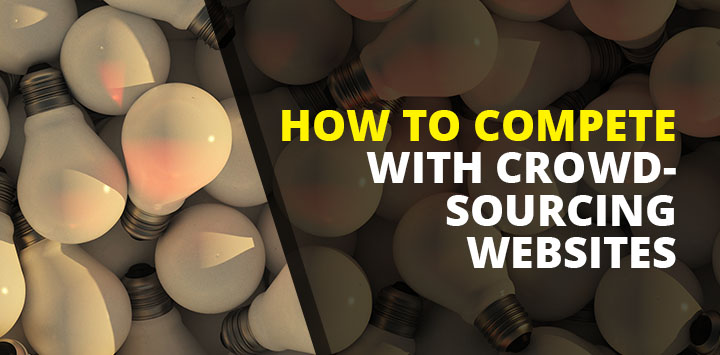 How to Compete with Crowdsourcing Websites and Charge More
