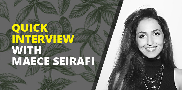 Quick interview with Maece Seirafi