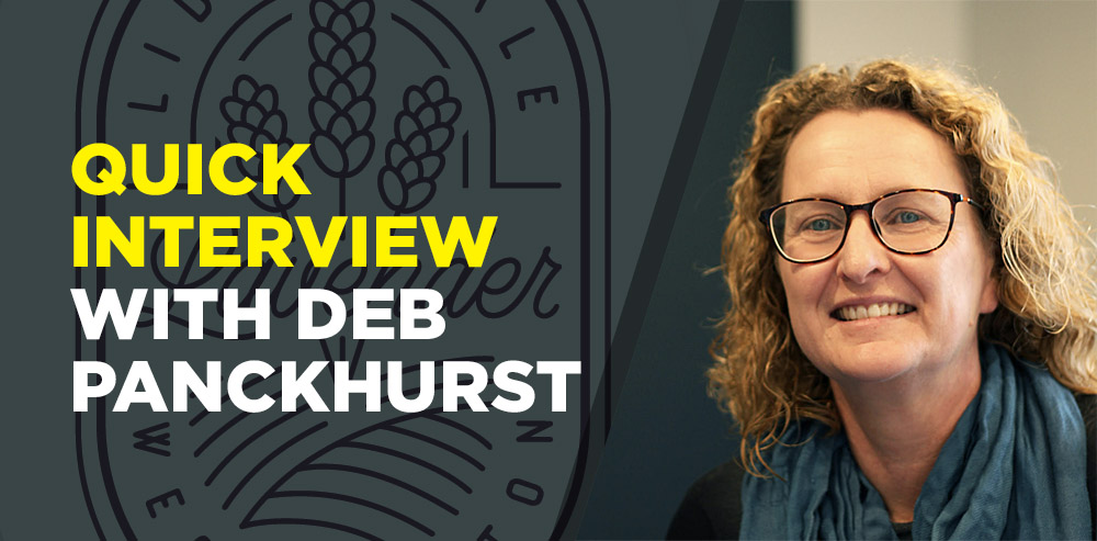 Quick Interview with Deb Panckhurst