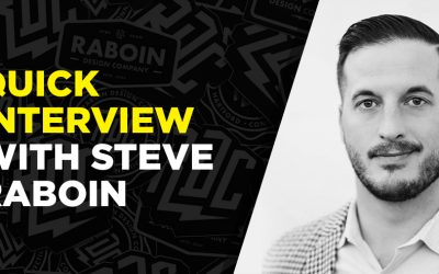 Quick interview with Steve Raboin