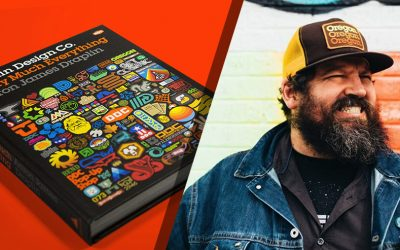 A peek behind the curtains of Aaron Draplin.